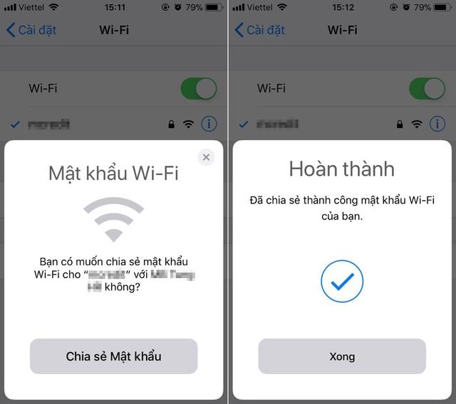 Mẹo chia sẻ mật khẩu Wi-Fi trên iPhone cực nhanh không phải ai cũng biết - 2