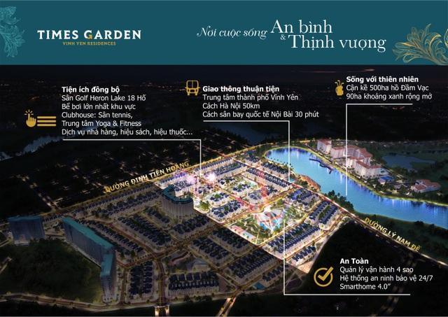 Times Garden Vĩnh Yên Residences: Giải bài toán đầu tư tích lũy hiệu quả - 1