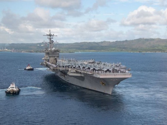 Mỹ nâng cấp tàu sân bay vĩnh viễn Guam để răn đe Trung Quốc - 1