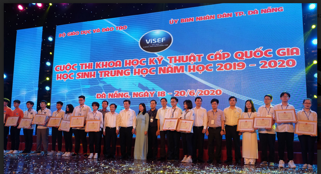 11 dự án đoạt giải nhất cuộc thi Khoa học kỹ thuật cấp quốc gia - 1