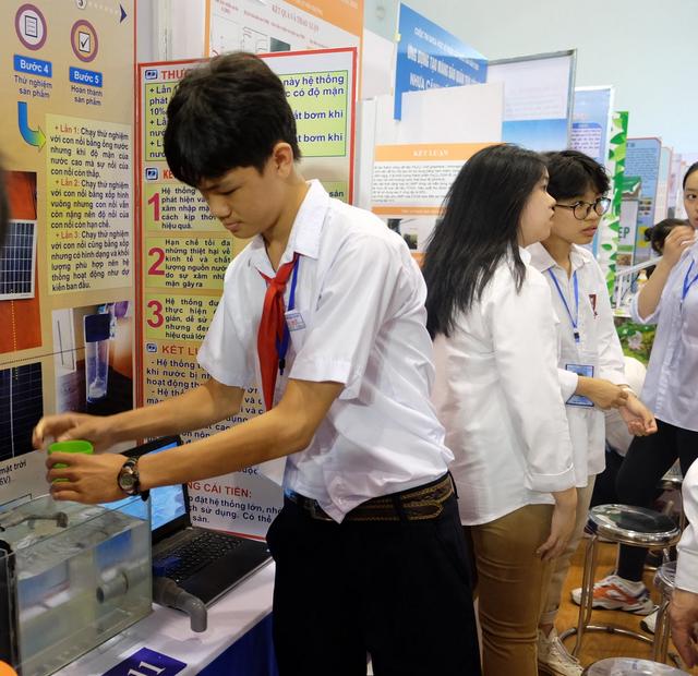 11 dự án đoạt giải nhất cuộc thi Khoa học kỹ thuật cấp quốc gia - 4