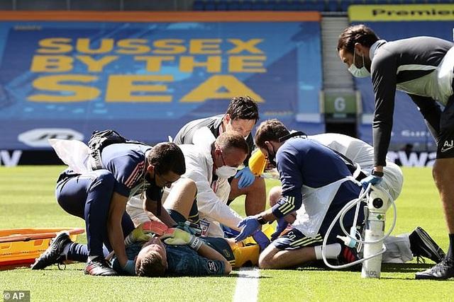 Thua đau đớn Brighton, Arsenal còn chịu tổn thất cực lớn - 1