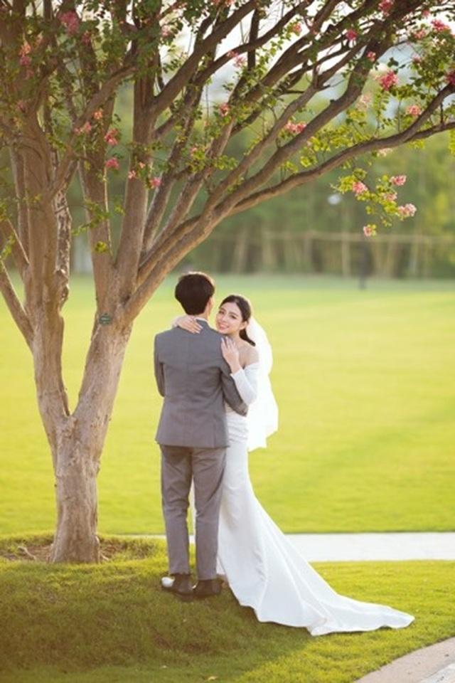 Ngất ngây bộ ảnh cưới đẹp như mơ tại vườn Nhật Bản Vinhomes Smart City - 8