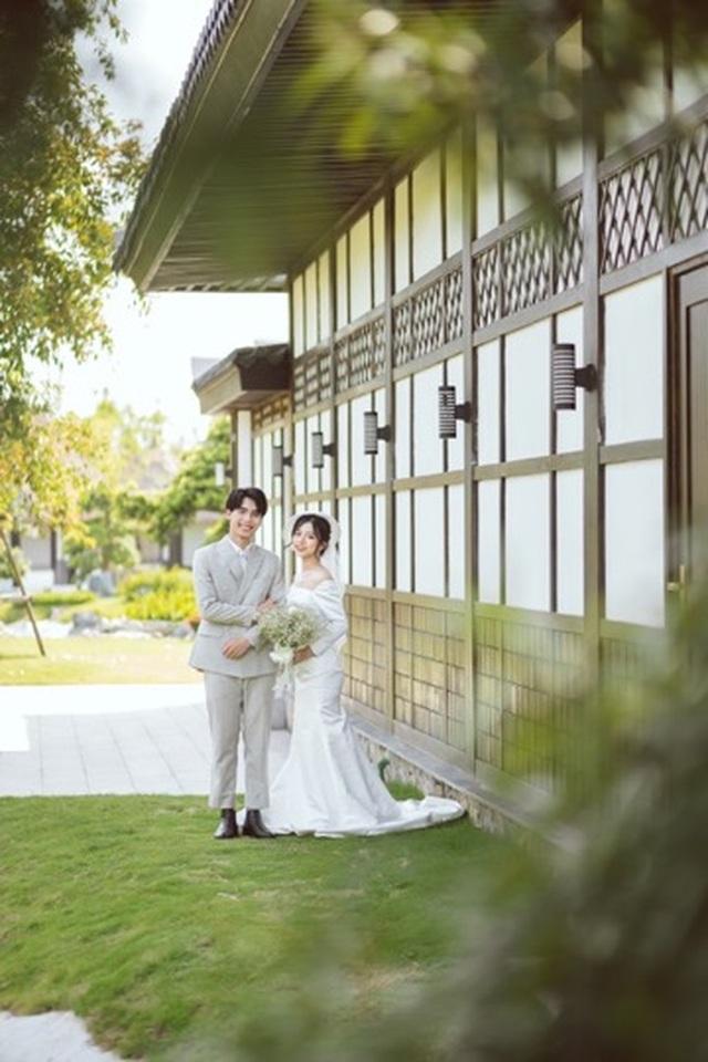 Ngất ngây bộ ảnh cưới đẹp như mơ tại vườn Nhật Bản Vinhomes Smart City - 9
