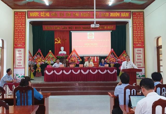 Trưởng Ban Kinh tế Trung ương Nguyễn Văn Bình tiếp xúc cử tri Quảng Bình - 1