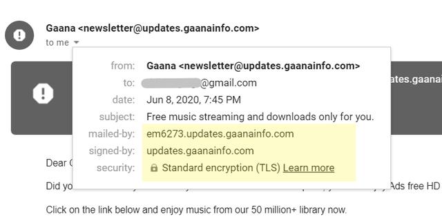 Cách nhận biết email lừa đảo và website không an toàn - 3