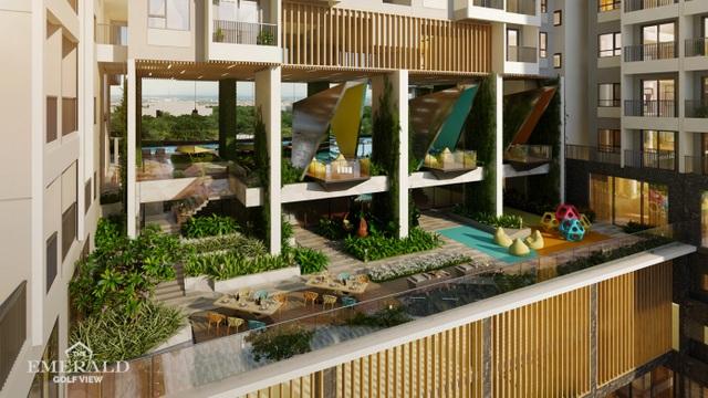 Choáng ngợp với thiết kế thời thượng của khu căn hộ mẫu The Emerald Golf View - 3