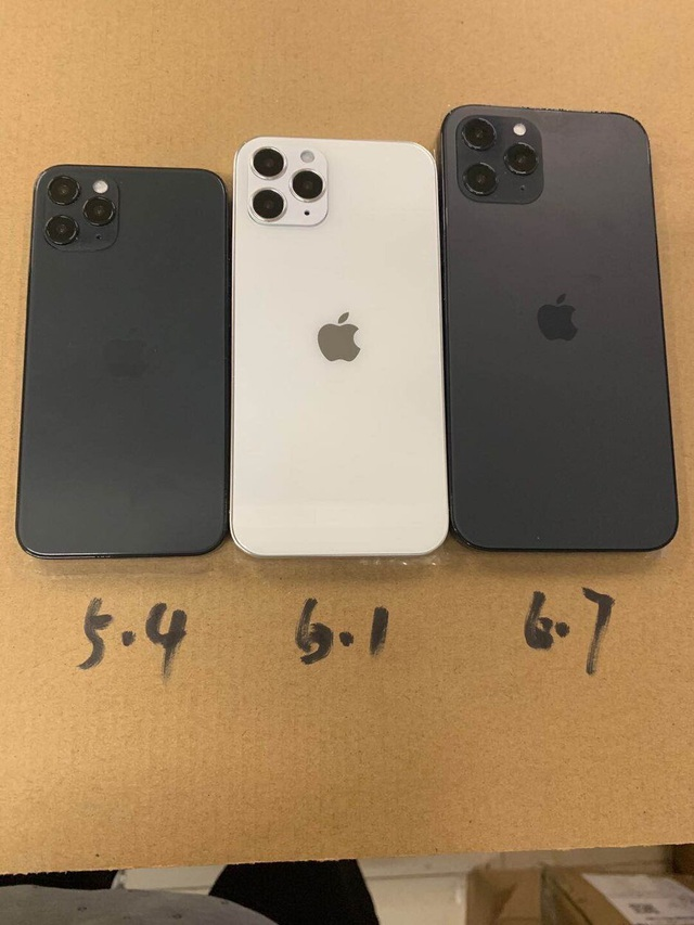 Lộ ảnh mô hình hoàn chỉnh cho thấy thiết kế mới mẻ của iPhone 12