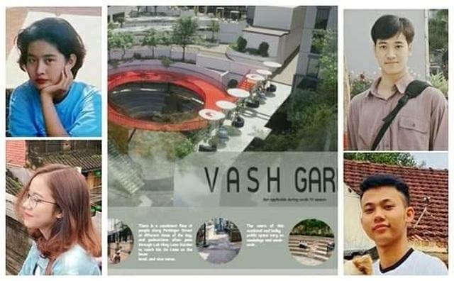 Sinh viên Đà Nẵng đoạt giải Á quân thi kiến trúc cảnh quan quốc tế - 1