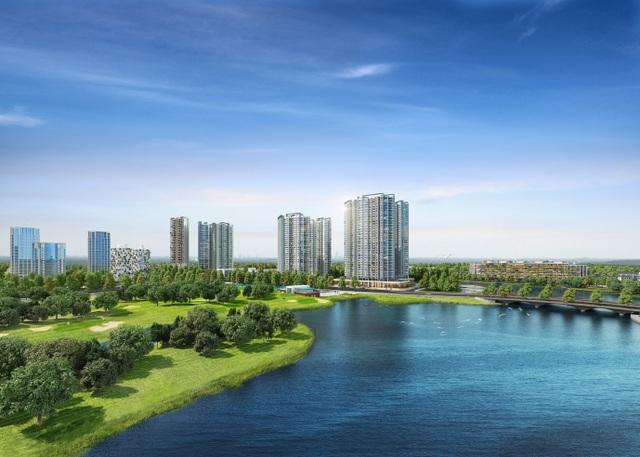Đông Hà Nội có khu đô thị sở hữu thiết kế cảnh quan đẹp nhất thế giới - 1
