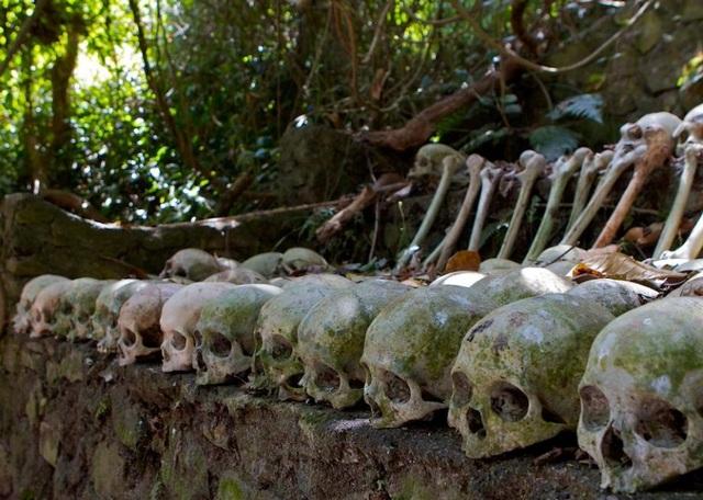 Thử thách khám phá đảo đầu lâu, nơi mai táng theo cách kì dị tại đảo Bali - 6