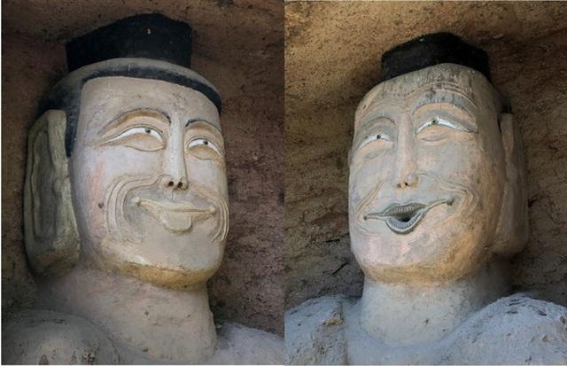 Bức tượng Phật trong hang đá mỉm cười gây xôn xao - 2