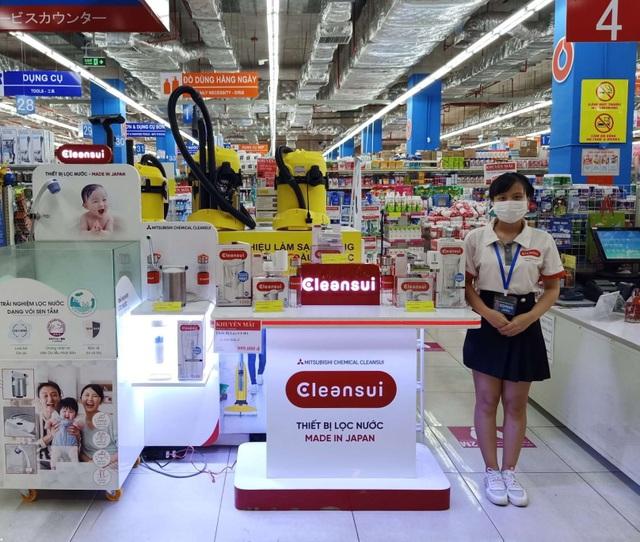 """Lọc nước chính hãng Cleansui """"lên kệ"""" các siêu thị lớn - 1"""