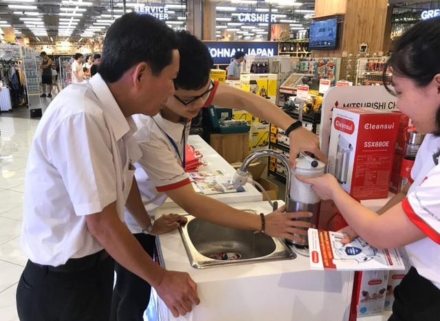 """Lọc nước chính hãng Cleansui """"lên kệ"""" các siêu thị lớn - 3"""