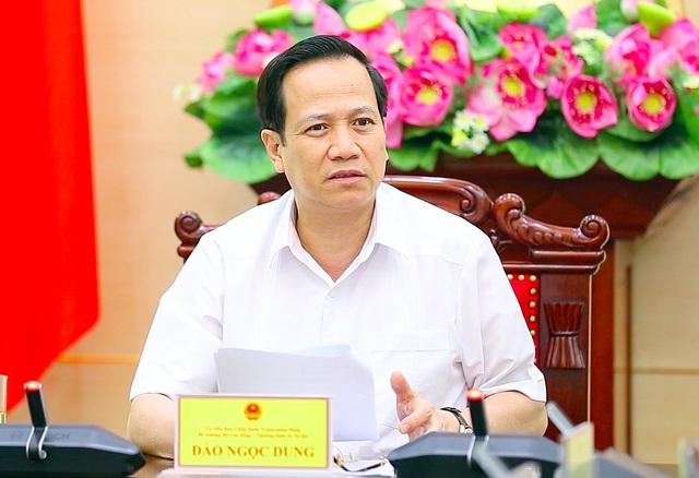Bộ trưởng Đào Ngọc Dung: Phấn đấu chi xong gói 62.000 tỷ đồng trong tháng 6 - 1