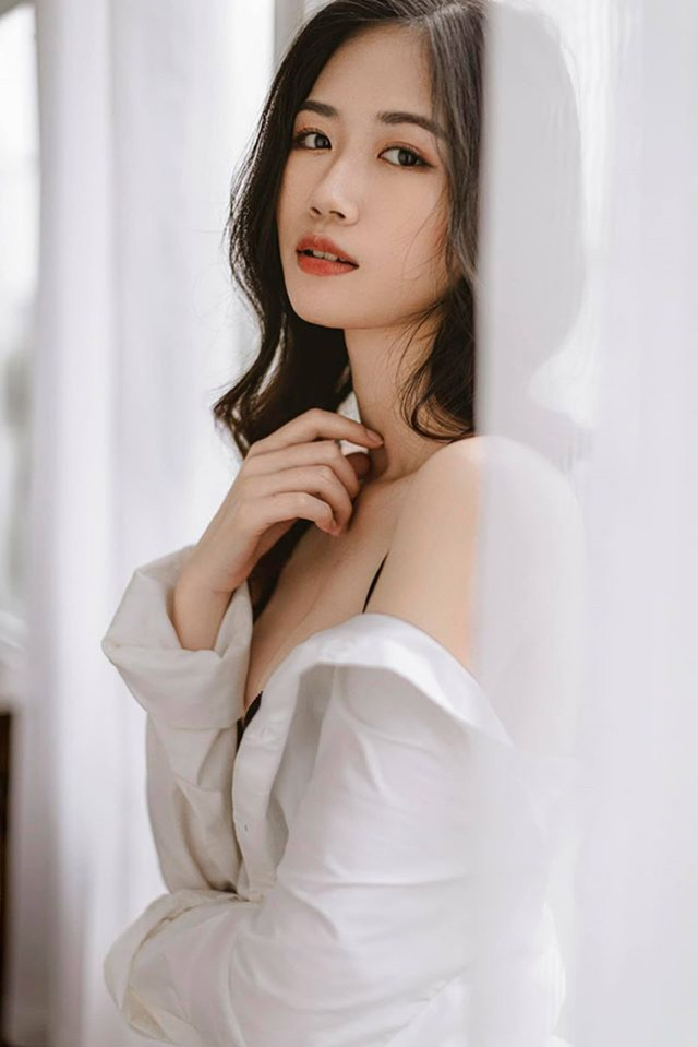 Nữ sinh 10X Hà thành được khen đẹp thuần khiết, dịu dàng - 3