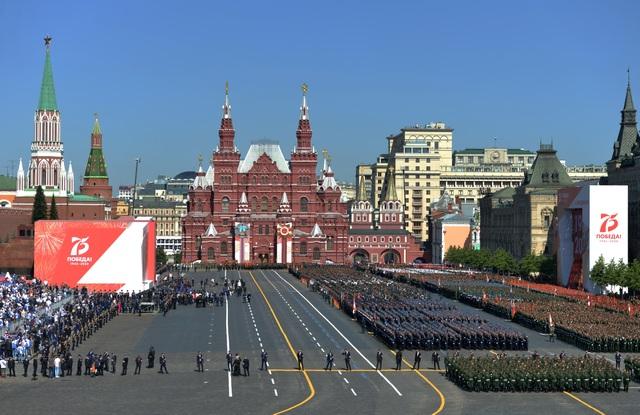 14.000 quân Nga duyệt binh mừng 75 năm chiến thắng phát xít - 19