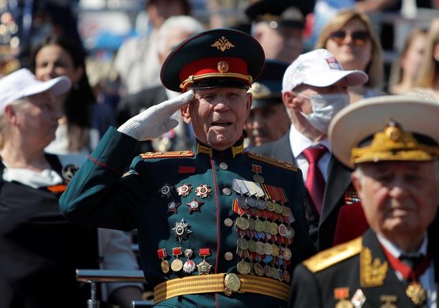14.000 quân Nga duyệt binh mừng 75 năm chiến thắng phát xít - 1