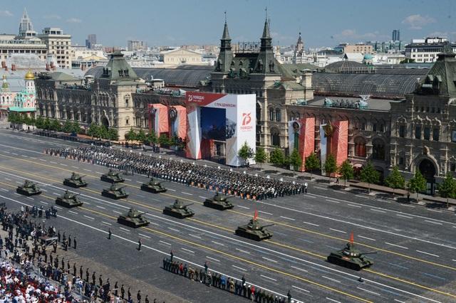 14.000 quân Nga duyệt binh mừng 75 năm chiến thắng phát xít - 8