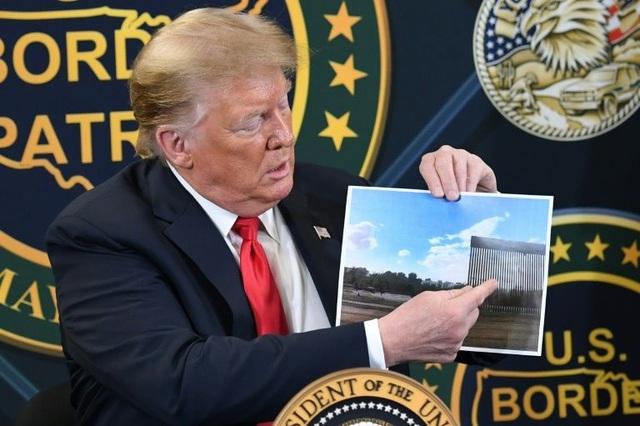 Ông Trump tuyên bố tường biên giới chặn được Covid-19 - 1