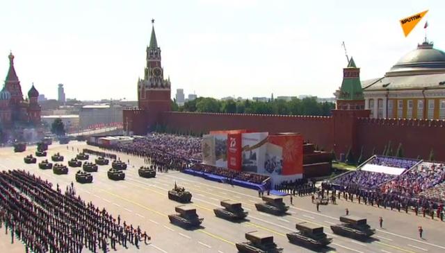 14.000 quân Nga duyệt binh mừng 75 năm chiến thắng phát xít - 14