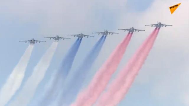 14.000 quân Nga duyệt binh mừng 75 năm chiến thắng phát xít - 3