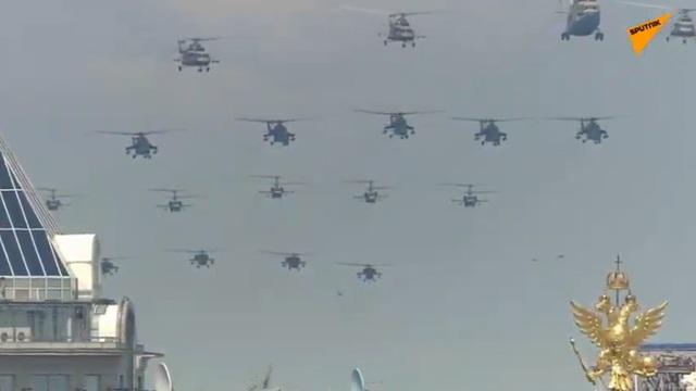 14.000 quân Nga duyệt binh mừng 75 năm chiến thắng phát xít - 2