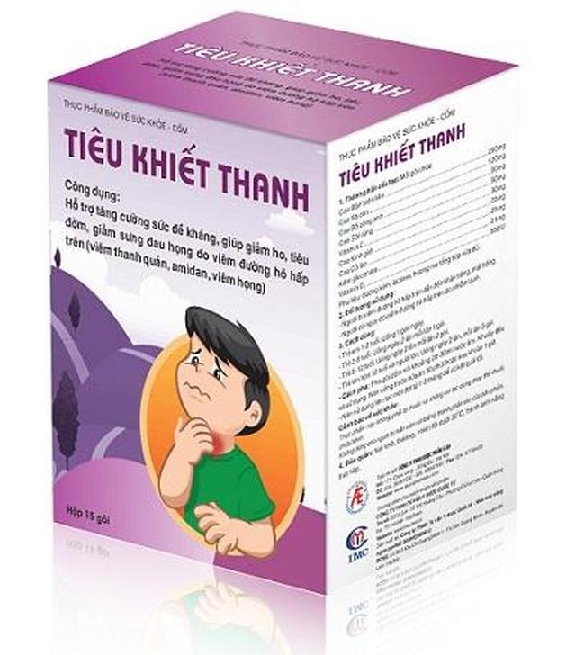 Cốm Tiêu Khiết Thanh - Giải pháp ưu việt giúp cải thiện viêm họng hạt ở trẻ - 3