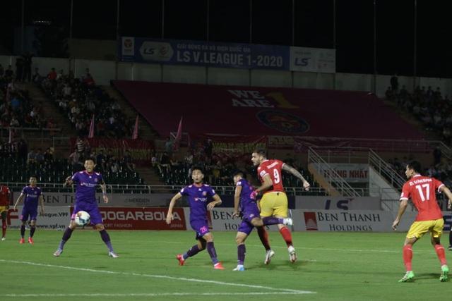 Ngoại binh lập công, Sài Gòn FC may mắn thủ hòa với Hồng Lĩnh Hà Tĩnh - 3