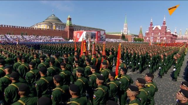 14.000 quân Nga duyệt binh mừng 75 năm chiến thắng phát xít - 27
