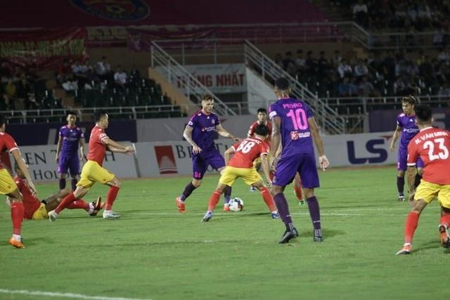 Ngoại binh lập công, Sài Gòn FC may mắn thủ hòa với Hồng Lĩnh Hà Tĩnh - 2