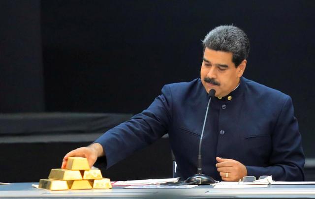 """Lãnh đạo Venezuela """"đấu đá"""" giành kho vàng 1 tỷ USD ở London - 1"""
