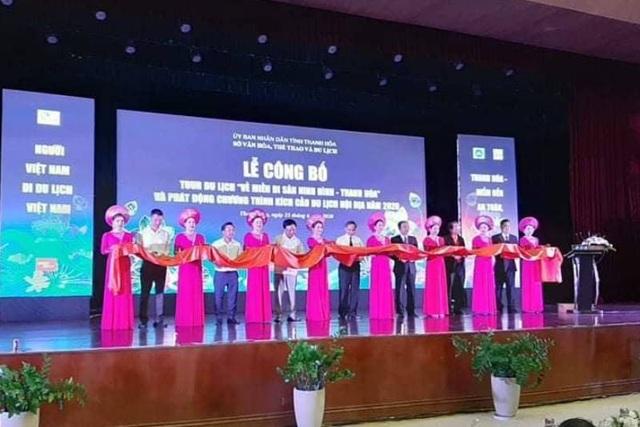 """Công bố tour du lịch """"Về miền di sản Ninh Bình - Thanh Hóa"""" - 1"""