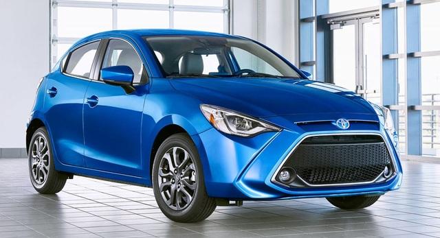 Toyota khai tử dòng xe Yaris tại Mỹ - 1