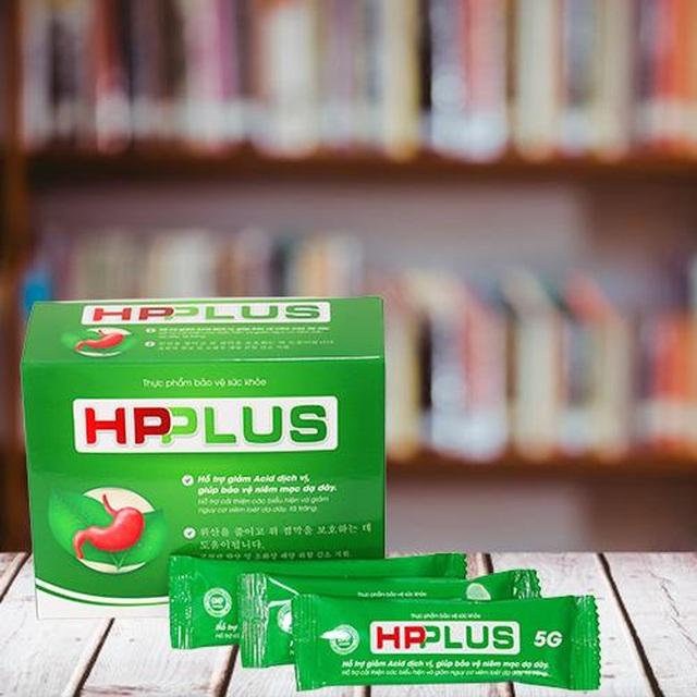Dạ dày HP PLus giúp hỗ trợ giảm acid dịch vị, bảo vệ niêm mạc dạ dày - 2