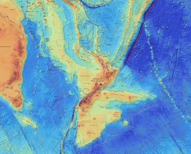 Lục địa thứ 8 của Trái Đất bị thất lạc - 1