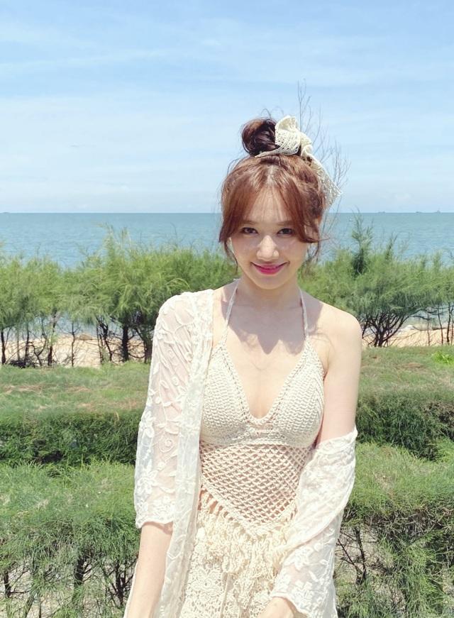 Hari Won diện áo tắm khoe sắc vóc nóng bỏng ở tuổi 35 - 11