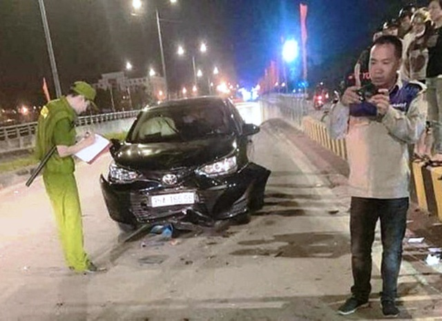 Nghi vấn cán bộ Sở GTVT say rượu lái xe tông một gia đình bị thương - 1