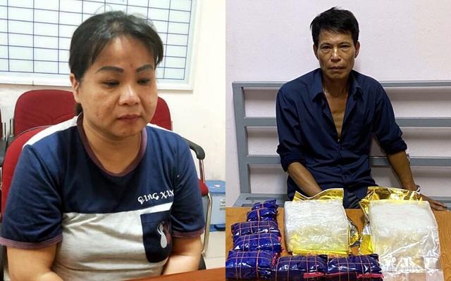 Ngụy trang ma túy trong bao tải mận, vận chuyển từ Sơn La về Hà Nội - 1