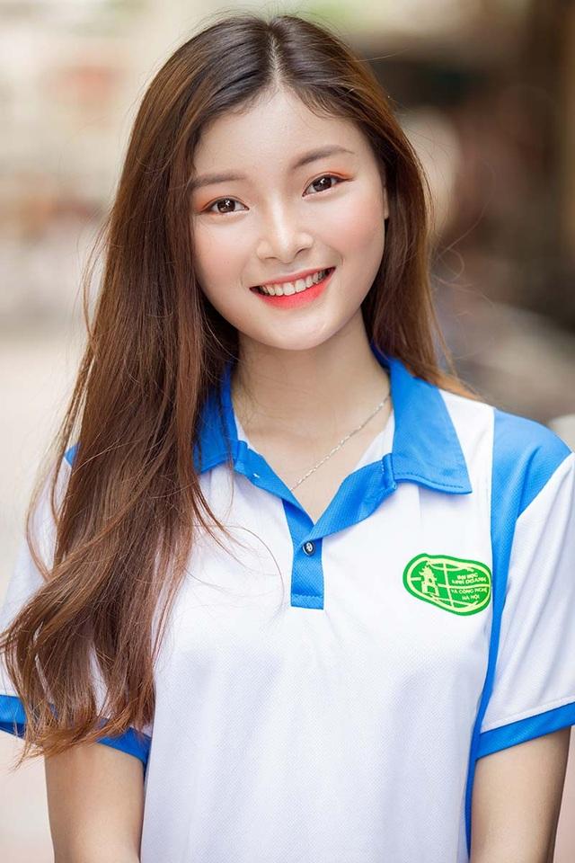 Á khôi Tài sắc Việt Nam đẹp rạng ngời trong bộ đồng phục giản dị - 5