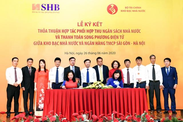 Kho bạc Nhà nước và SHB hợp tác phối hợp thu ngân sách nhà nước - 3
