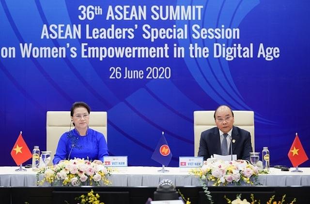 Thủ tướng kêu gọi ASEAN hành động để giải phóng tiềm năng của phụ nữ