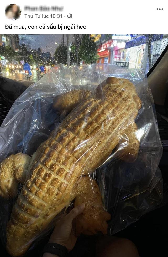Dân mạng thích thú với bánh mì cá sấu siêu to khổng lồ - 2