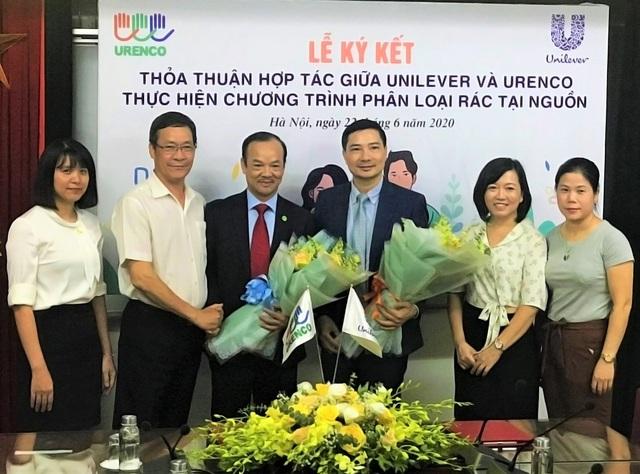 Unilever và URENCO hợp tác triển khai phân loại rác tại nguồn ở Hà Nội - 2