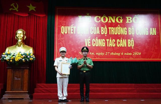 Nghệ An, Điện Biên có tân Giám đốc Công an tỉnh - 2