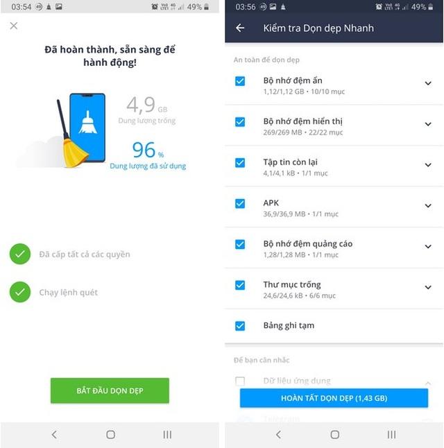 Ứng dụng dọn dẹp file rác giúp tiết kiệm dung lượng lưu trữ trên smartphone - 7