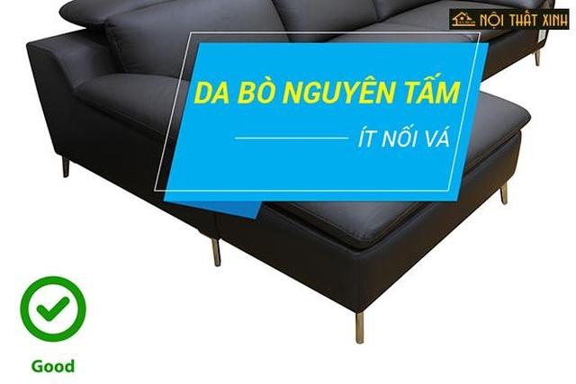 """""""Bí quyết"""" nhận biết ghế sofa da nhập khẩu cao cấp - 3"""