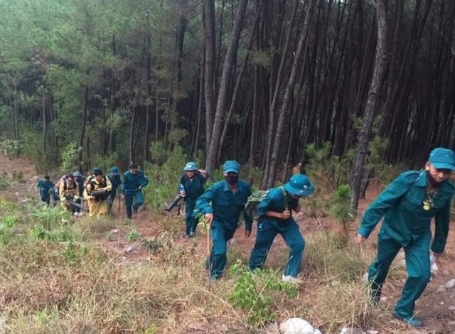 Cháy rừng thông hơn 30 năm tuổi,cả nghìn người tham gia dập lửa - 7