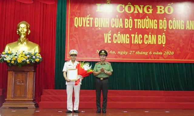 Nghệ An, Điện Biên có tân Giám đốc Công an tỉnh - 1