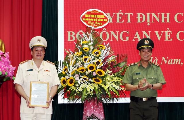 Giám đốc Công an Hà Nam làm Cục trưởng Cục Cảnh sát giao thông - 1